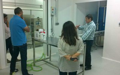 Cicap trabaja en la obtención de nuevos productos derivados de la leche de cabra
